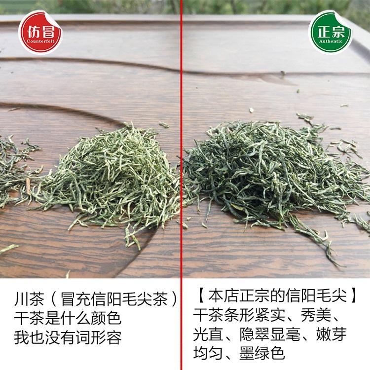 信阳毛尖 雨前珍芽 谷雨前信阳毛尖 2019新茶500g 浉河港 手工茶